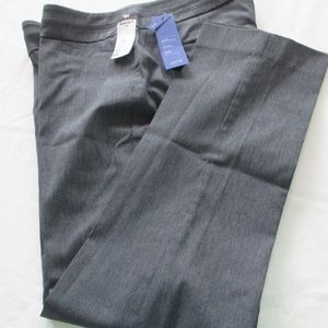 NWT - Apt. 9 gray pants - sz 10PS - MSRP $48.00